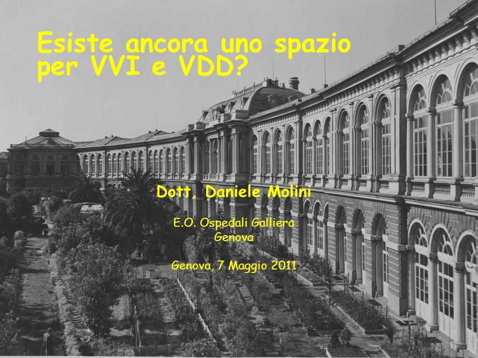 Esiste ancora uno spazio per VVI e VDD