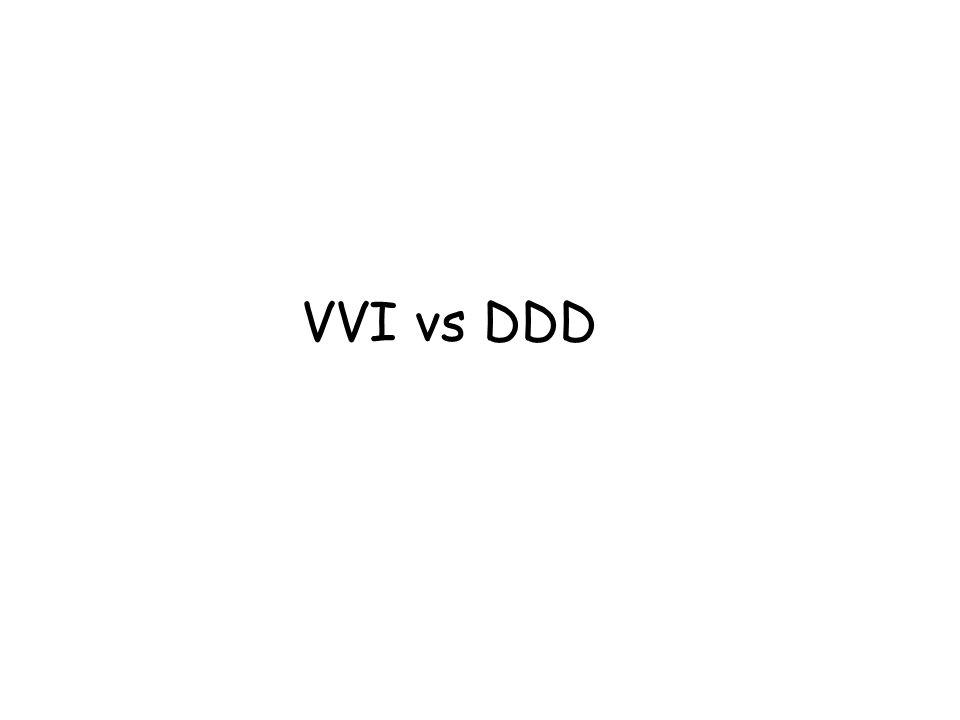 VVI vs DDD