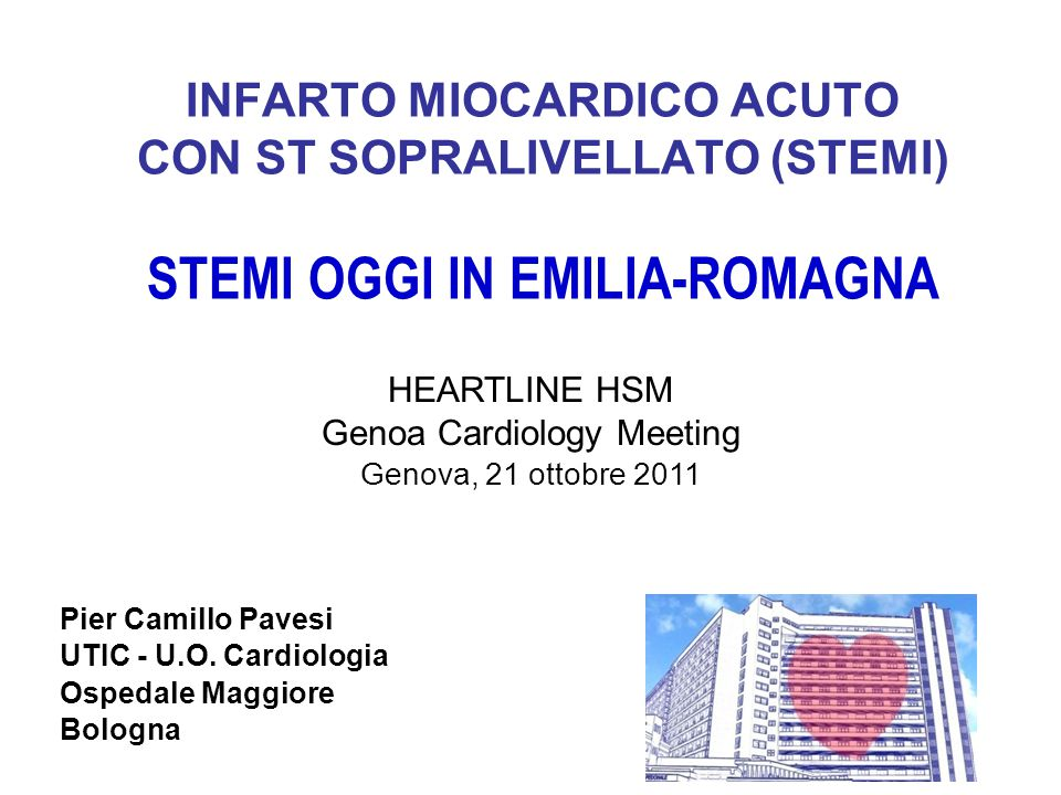 Genoa Cardiology Meeting