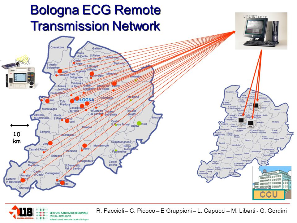 Bologna ECG Remote Transmission Network