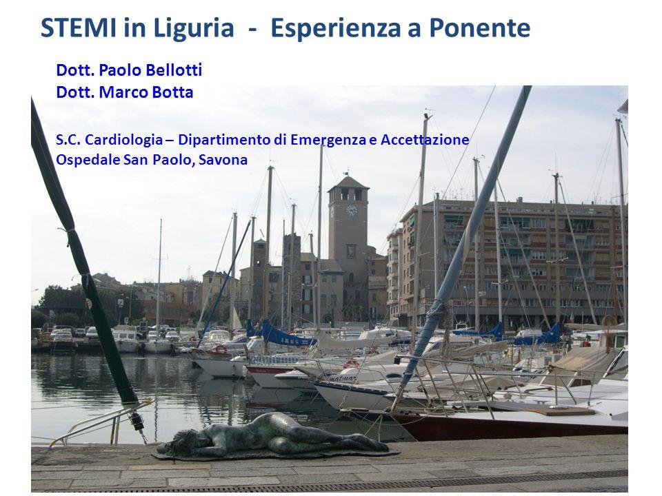 STEMI in Liguria - Esperienza a Ponente