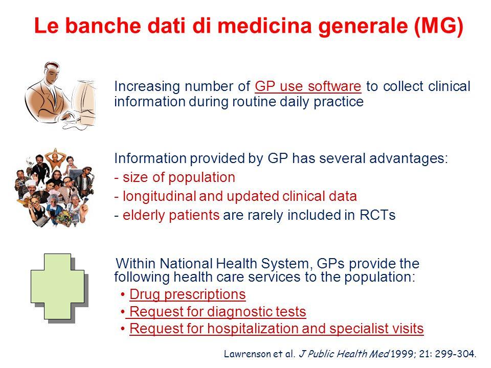 Le banche dati di medicina generale (MG)