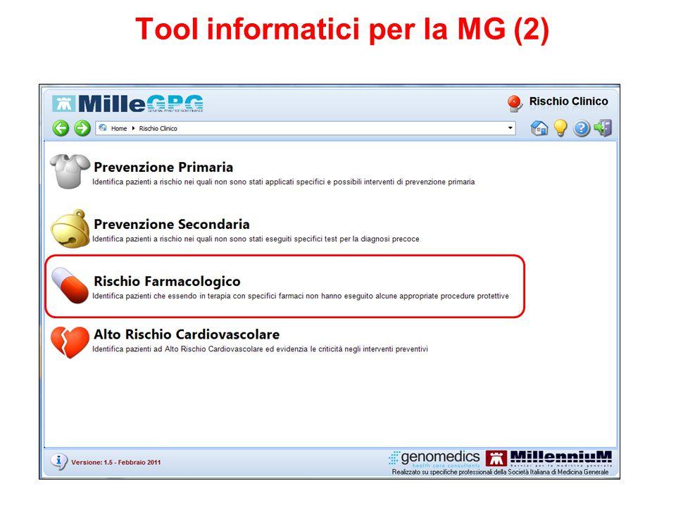 Tool informatici per la MG (2)