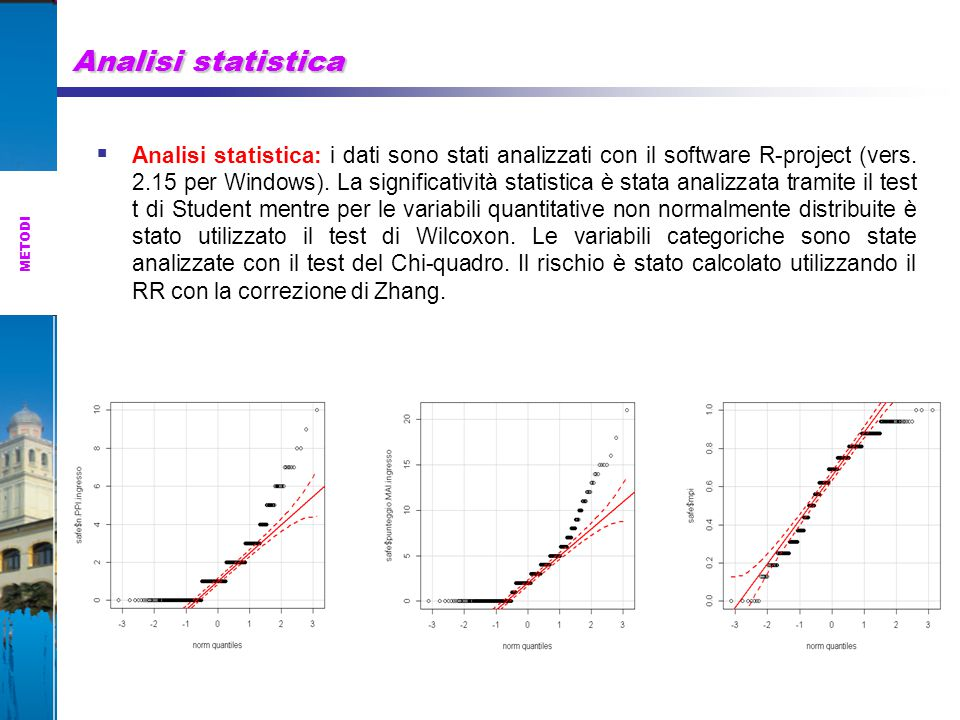 Analisi statistica