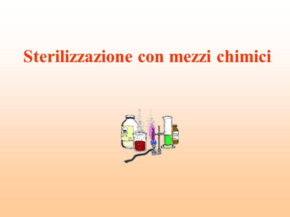 Sterilizzazione con mezzi chimici
