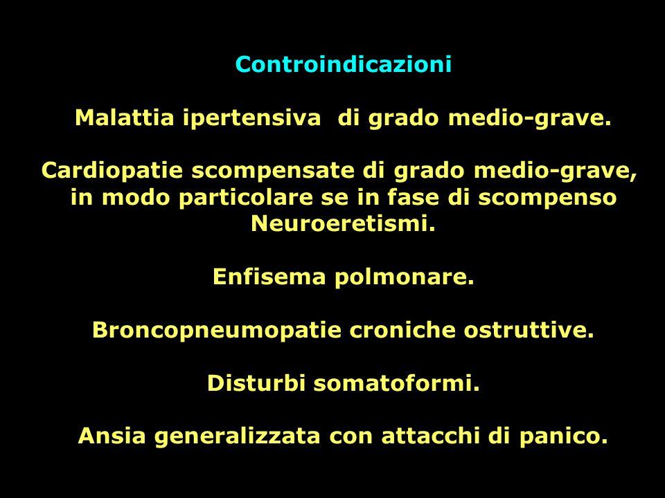 Malattia ipertensiva di grado medio-grave.