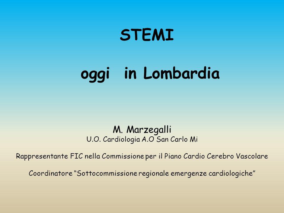 STEMI oggi in Lombardia