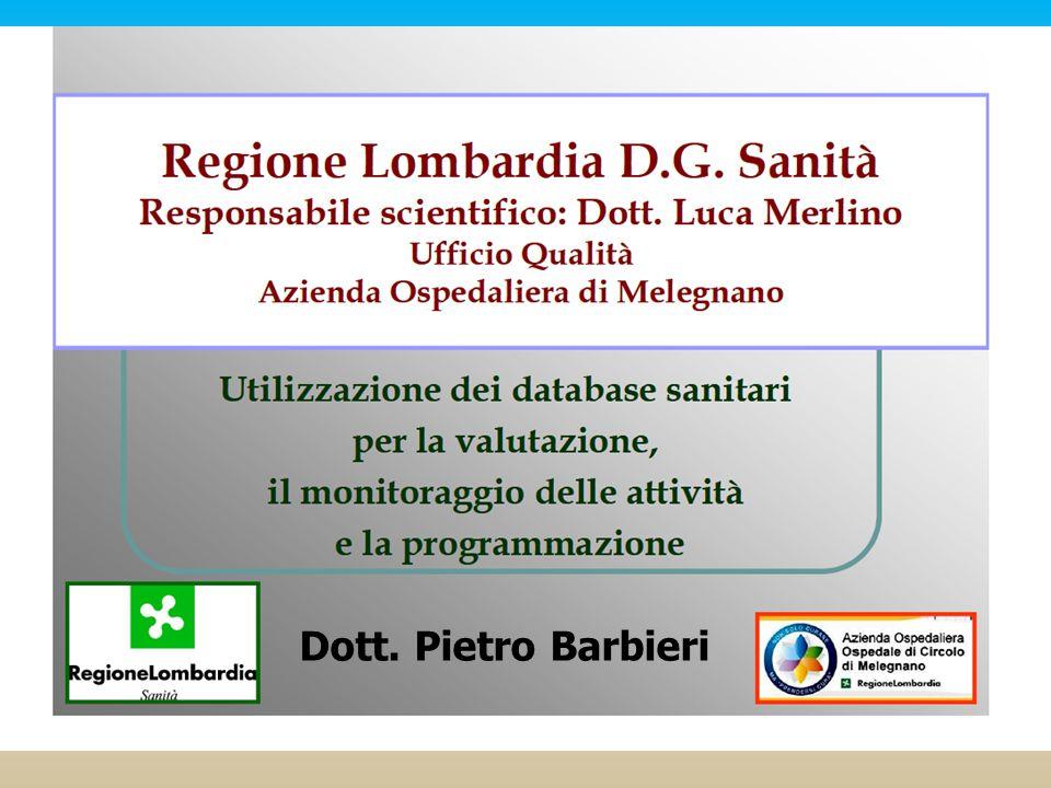 Dott. Pietro Barbieri Autore | Data
