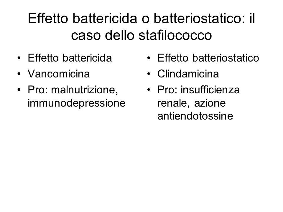 Effetto battericida o batteriostatico: il caso dello stafilococco