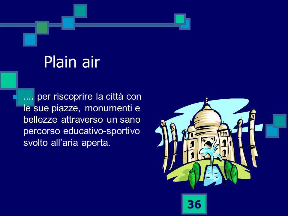 Plain air ….