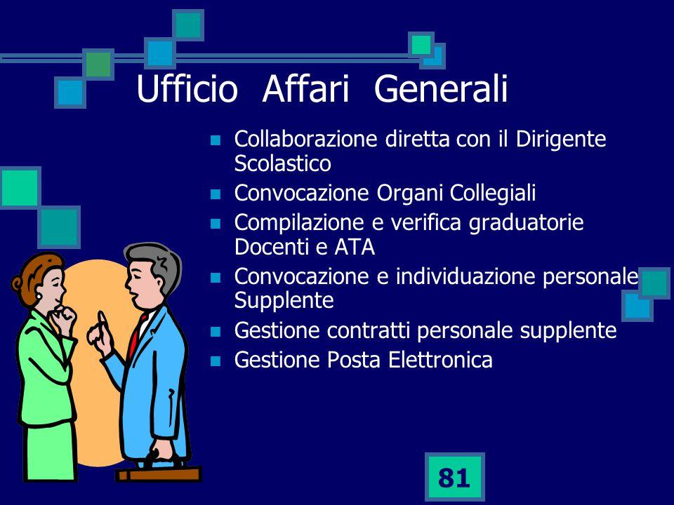 Ufficio Affari Generali