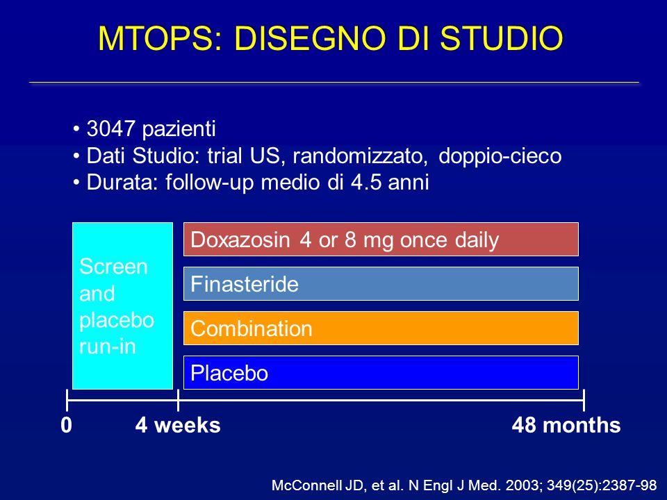 MTOPS: DISEGNO DI STUDIO