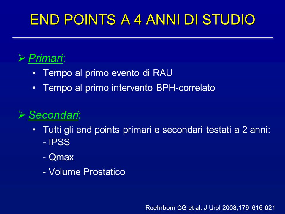 END POINTS A 4 ANNI DI STUDIO