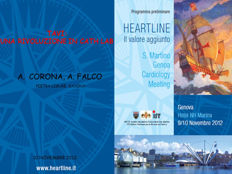 CORONA, A. FALCO TAVI: UNA RIVOLUZIONE IN CATH LAB