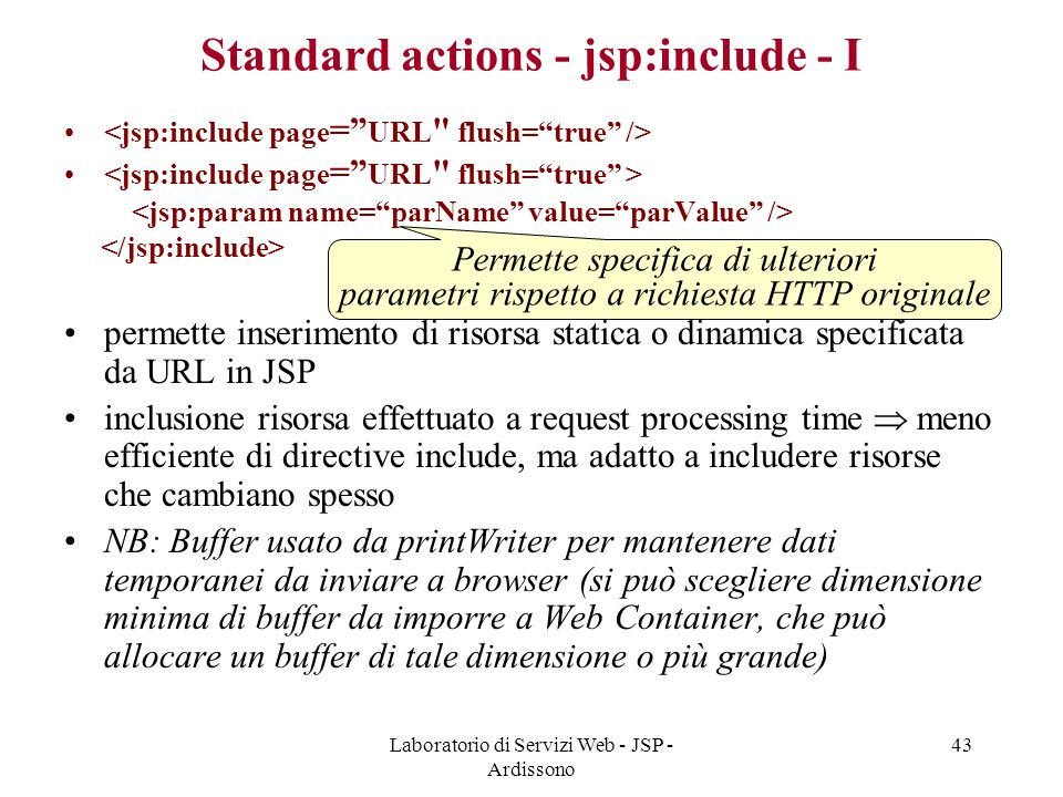 Standard actions - jsp:include - I