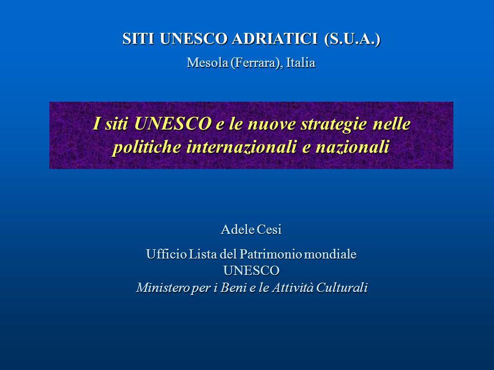SITI UNESCO ADRIATICI (S.U.A.)