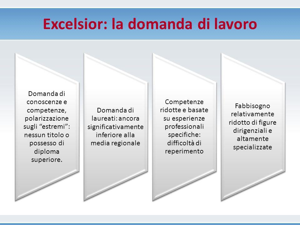 Excelsior: la domanda di lavoro
