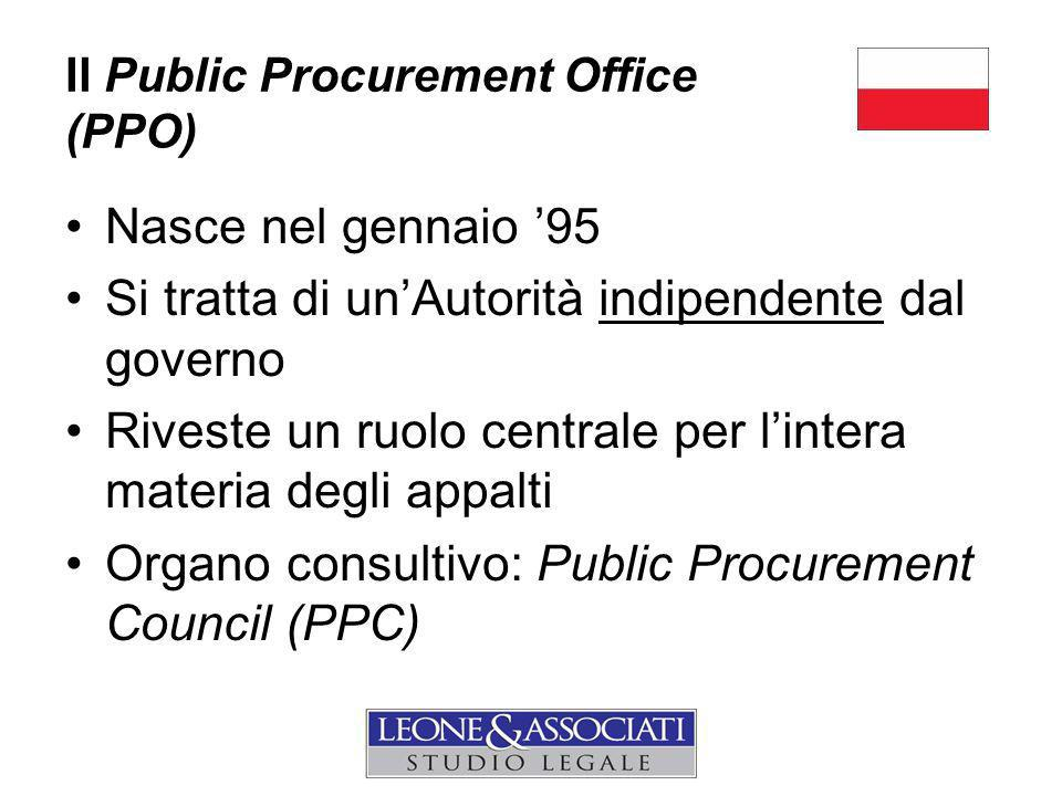 Il Public Procurement Office (PPO)