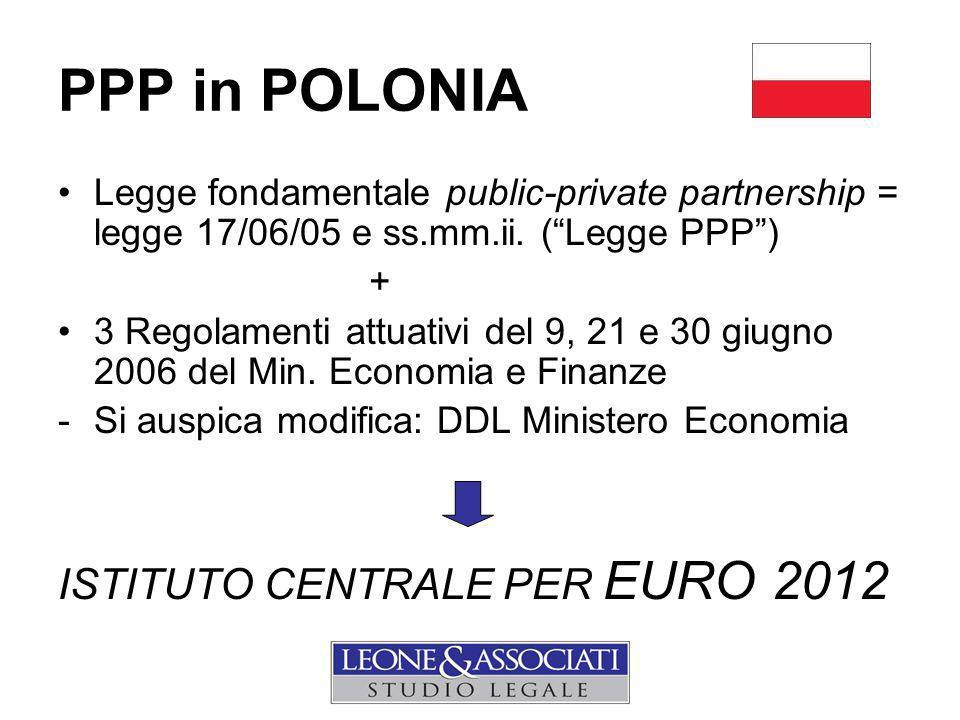 PPP in POLONIA ISTITUTO CENTRALE PER EURO 2012