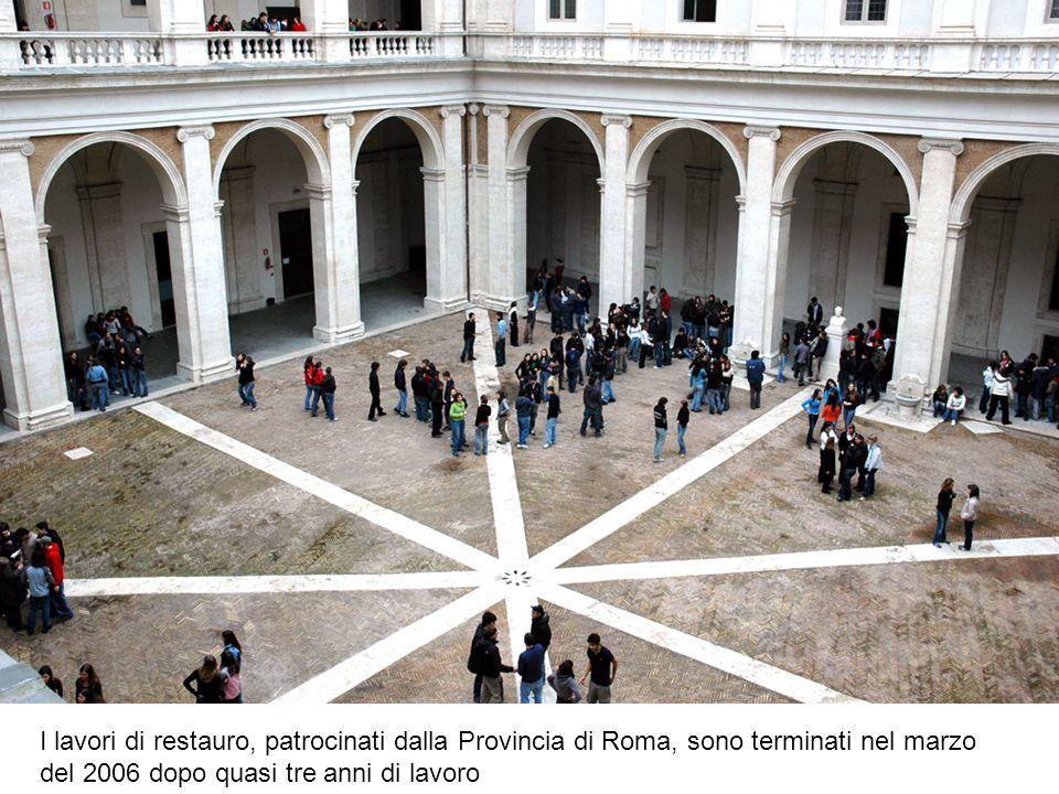 I lavori di restauro, patrocinati dalla Provincia di Roma, sono terminati nel marzo del 2006 dopo quasi tre anni di lavoro