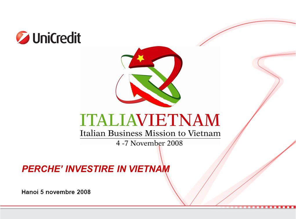 PERCHE' INVESTIRE IN VIETNAM