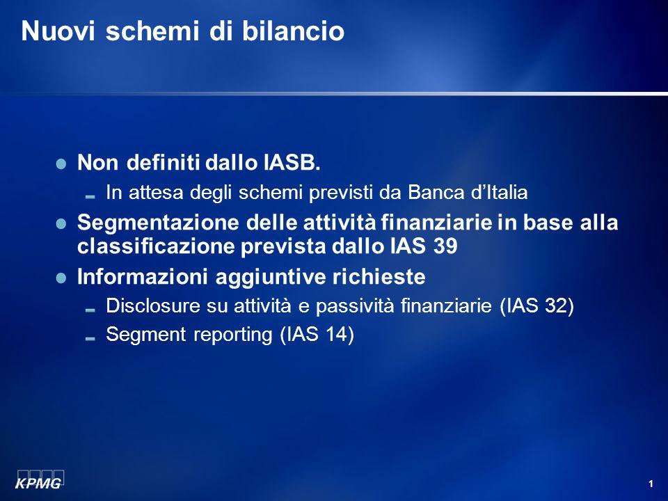 La transizione agli IFRS nelle istituzioni finanziarie
