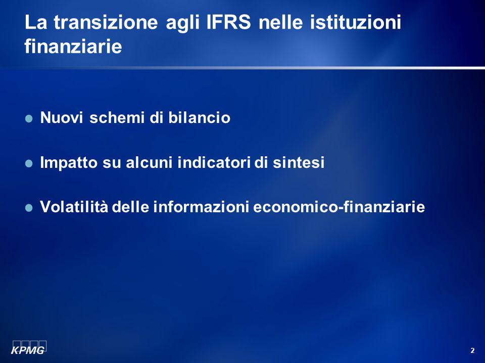 Classificazione e valutazione degli strumenti finanziari