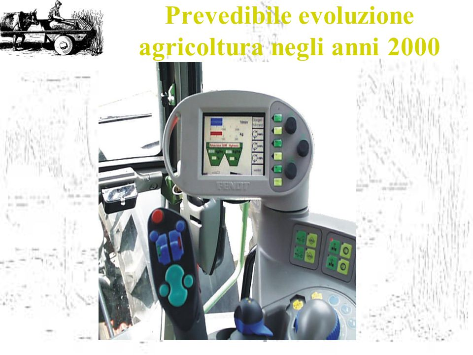 Prevedibile evoluzione agricoltura negli anni 2000