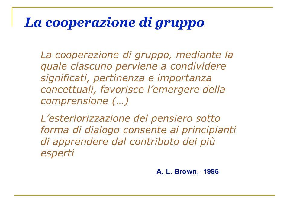 La cooperazione di gruppo