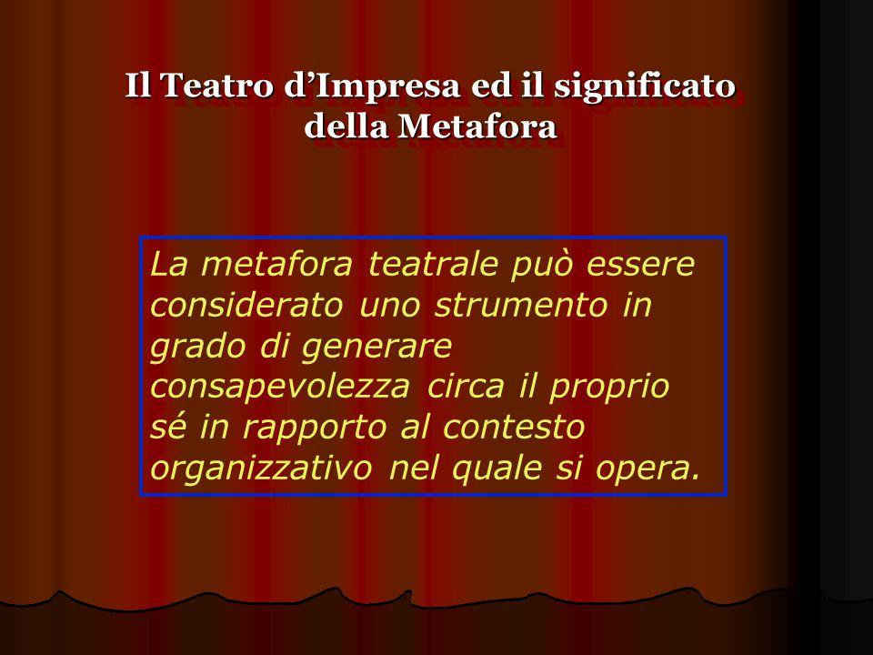 Il Teatro d'Impresa ed il significato della Metafora