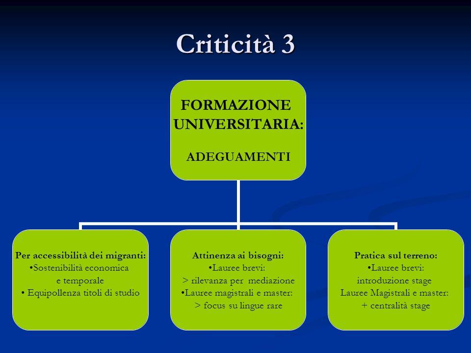 Criticità 3