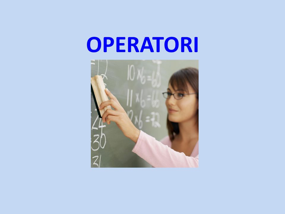 OPERATORI