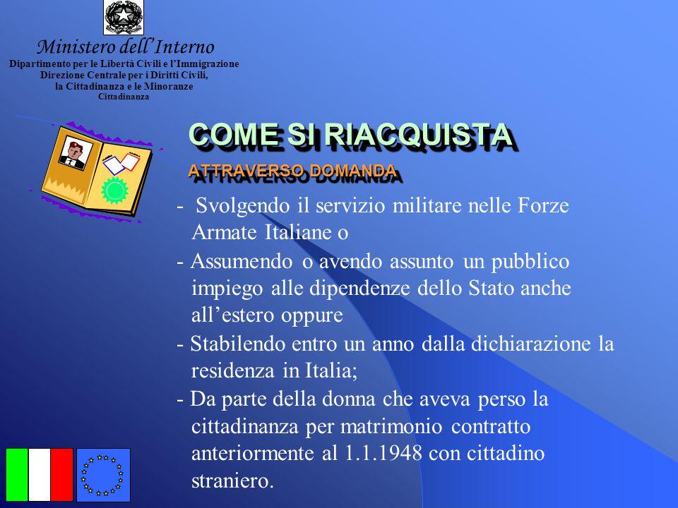 la cittadinanza italiana ppt video online scaricare