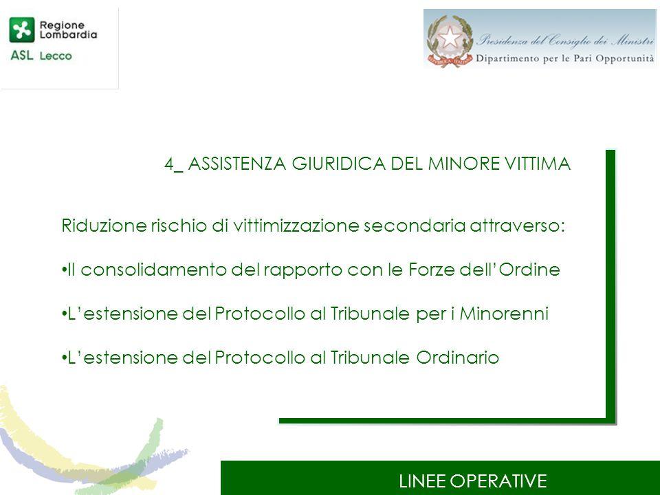 4_ ASSISTENZA GIURIDICA DEL MINORE VITTIMA
