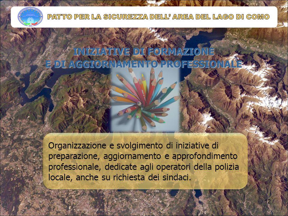 INIZIATIVE DI FORMAZIONE E DI AGGIORNAMENTO PROFESSIONALE