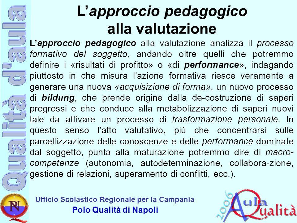 L'approccio pedagogico