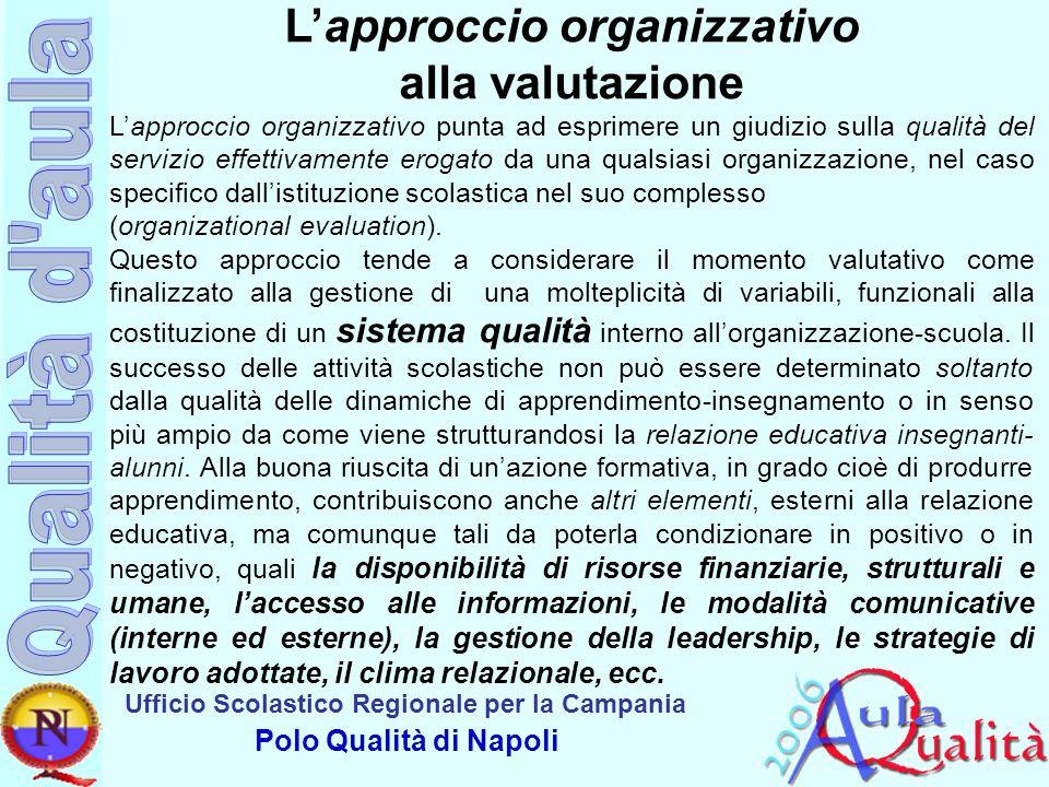 L'approccio organizzativo