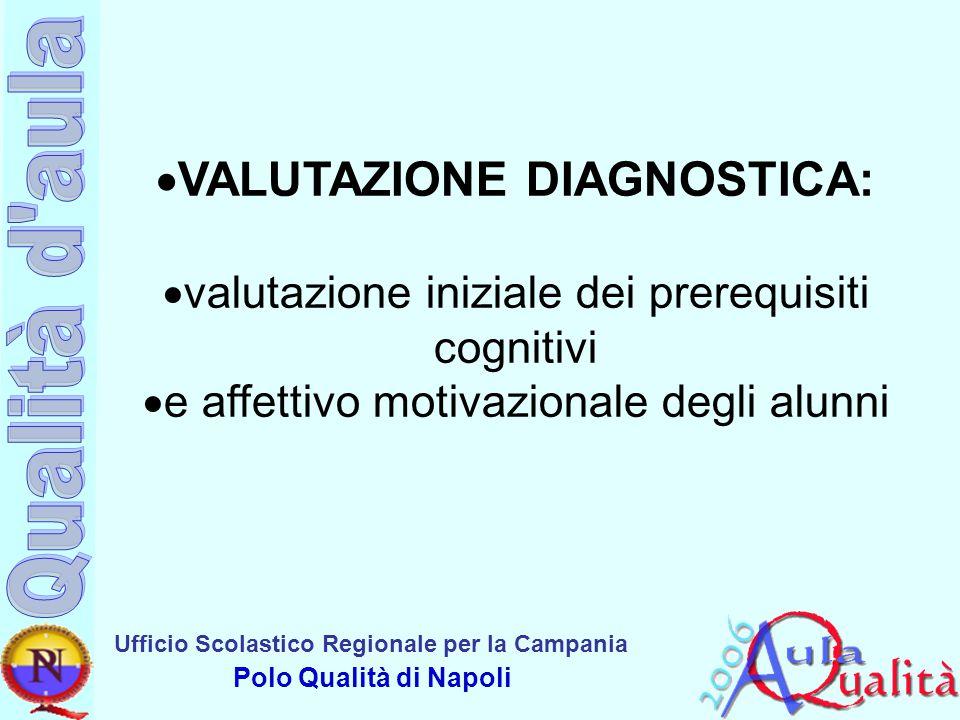 VALUTAZIONE DIAGNOSTICA: