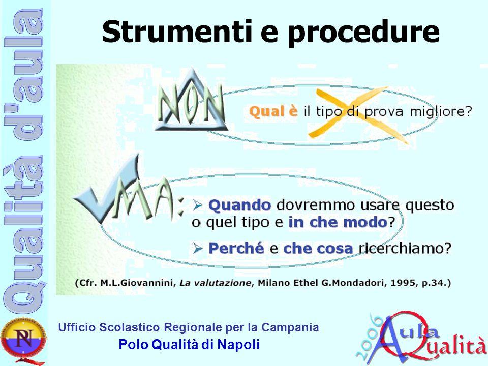 Strumenti e procedure
