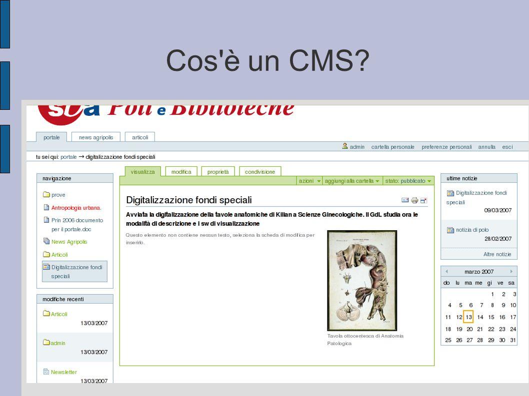 Cos è un CMS