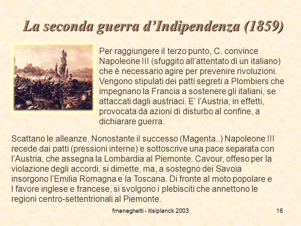 La seconda guerra d'Indipendenza (1859)