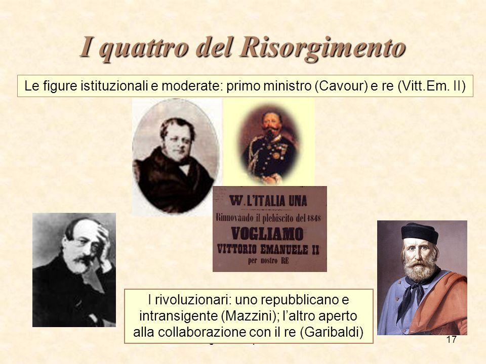 I quattro del Risorgimento