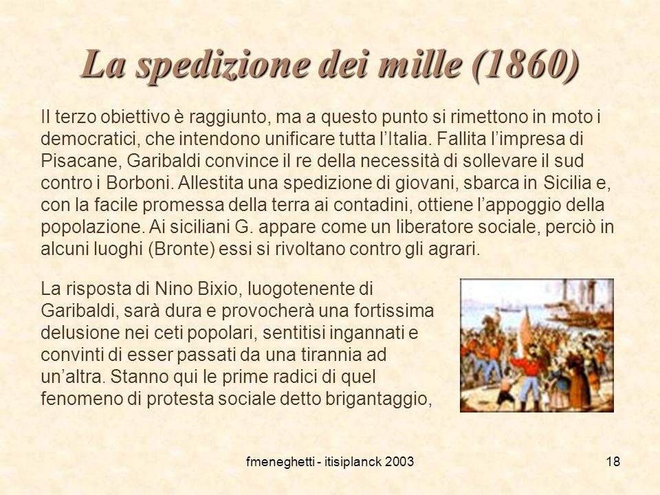 La spedizione dei mille (1860)