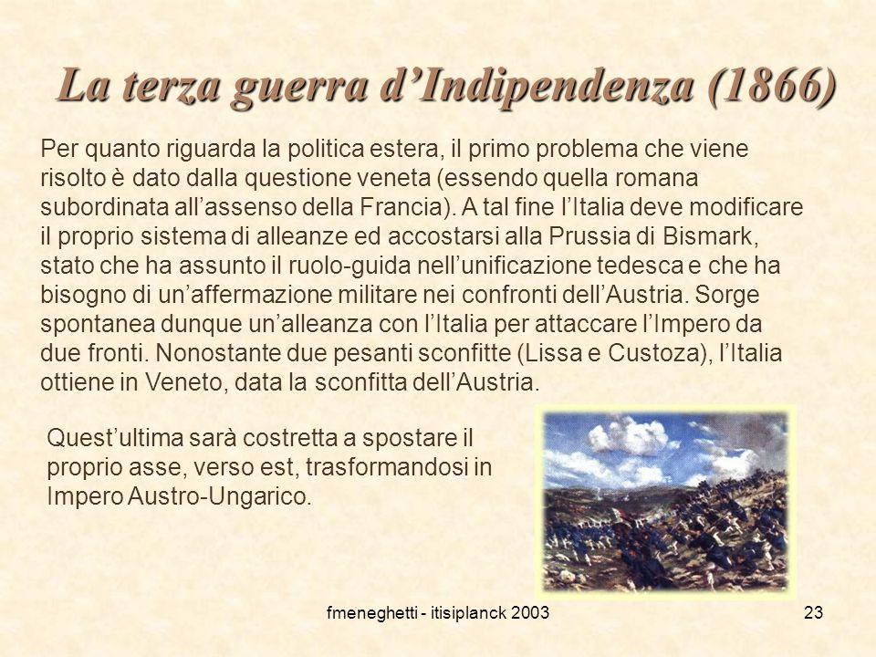 La terza guerra d'Indipendenza (1866)