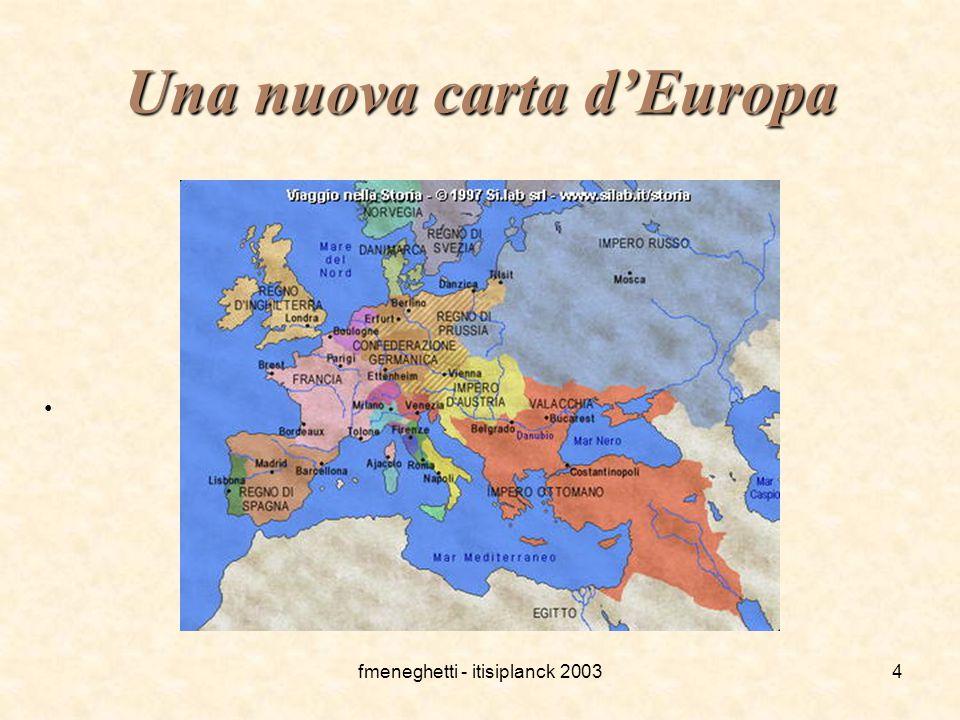 Una nuova carta d'Europa