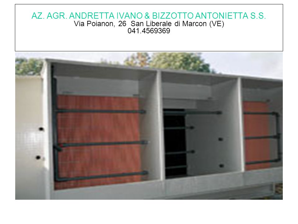 AZ. AGR. ANDRETTA IVANO & BIZZOTTO ANTONIETTA S. S
