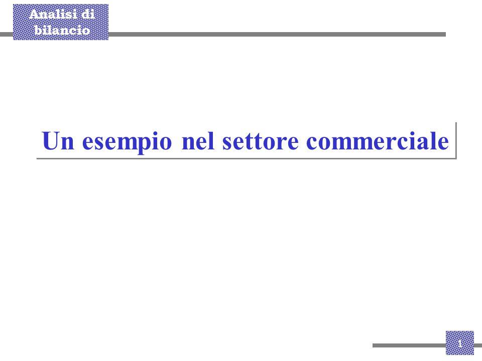 Un esempio nel settore commerciale