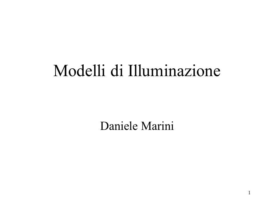 Modelli di Illuminazione