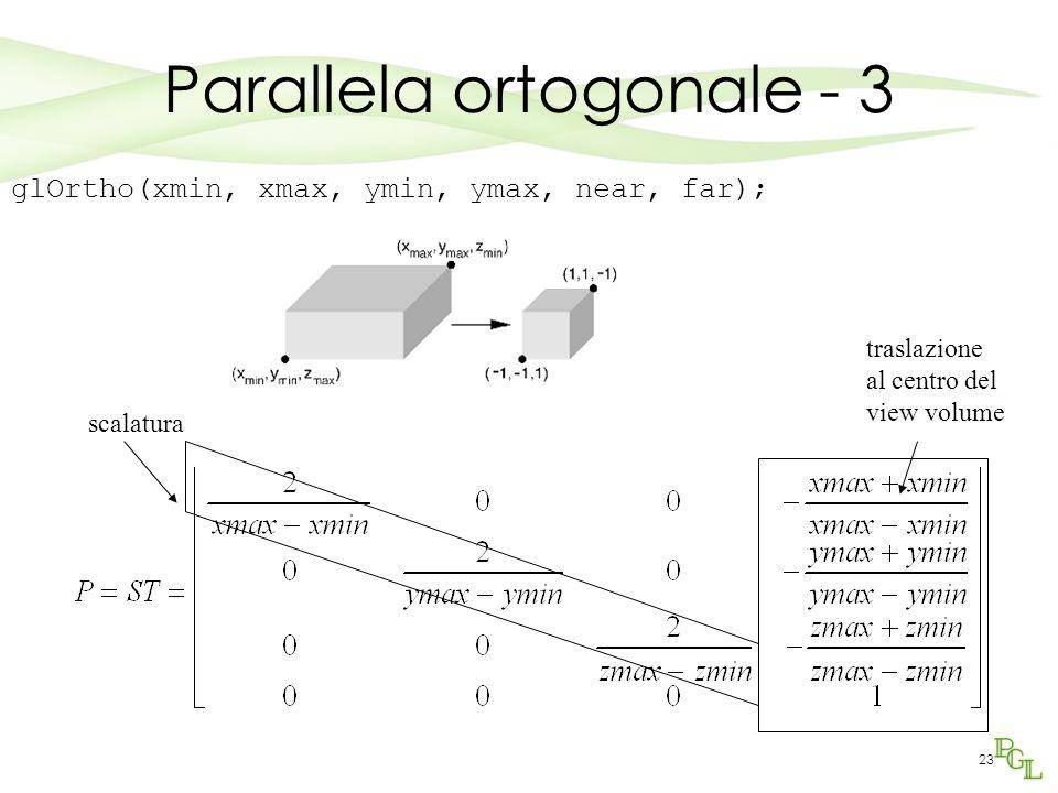 Parallela ortogonale - 3
