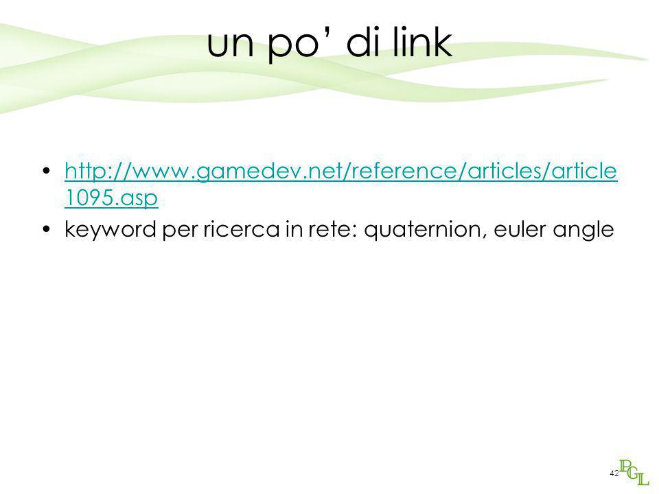 un po' di link http://www.gamedev.net/reference/articles/article1095.asp.